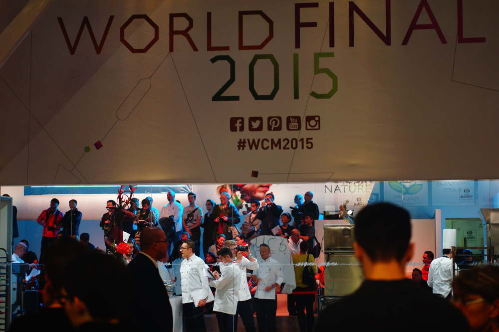 ワールドチョコレートマスターズ2015大会の様子
